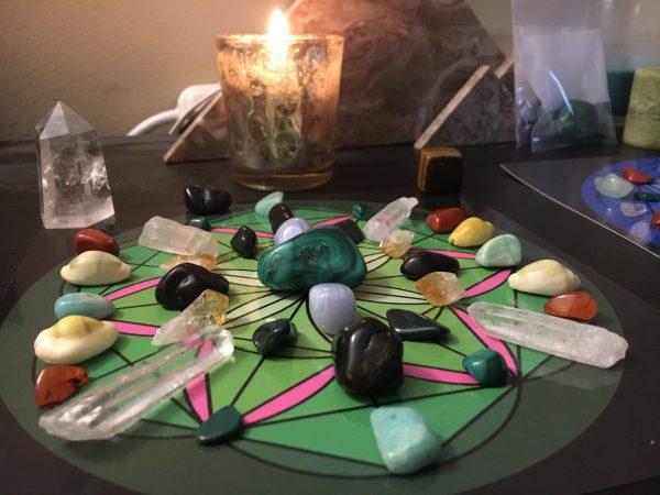 Crystal Money Healing energy Grid