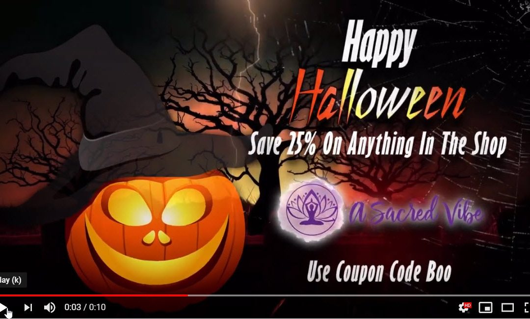Happy Halloween Sale 25% Off