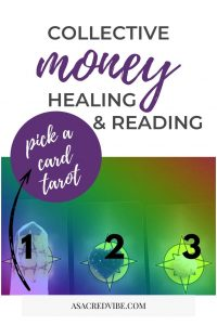 collective money healing tarot reading crystal