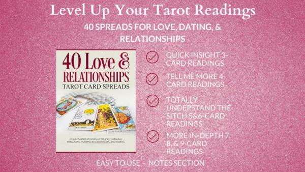 love relationship tarot card spreads printable