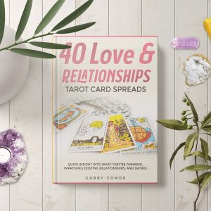 tarot card spreads book love relationship reading