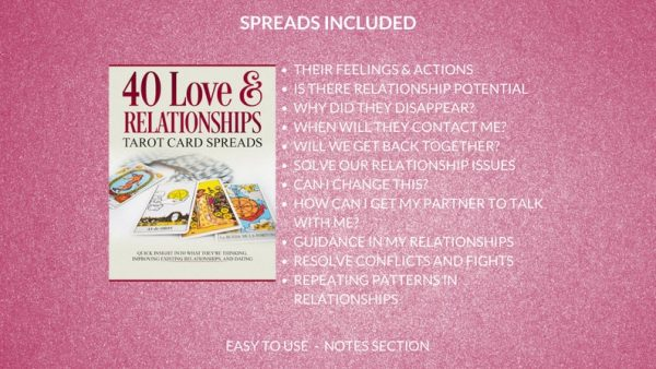 tarot card spreads love relationship marriage readings