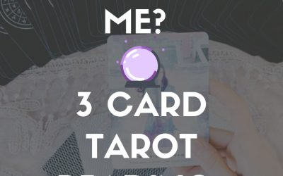 What Does He Think of Me? ? 3 Card Tarot Reading ✨ Intuitive