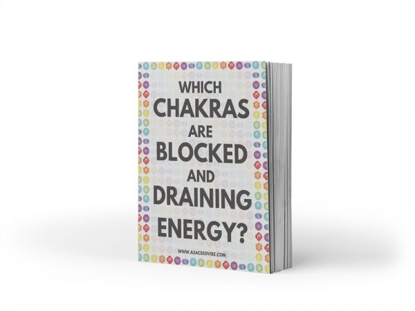 chakras blocked draining energy ebook